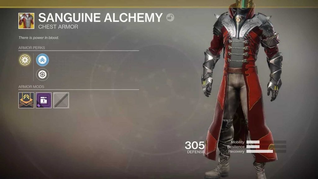 Destiny 2 Blut-Alchemie 3