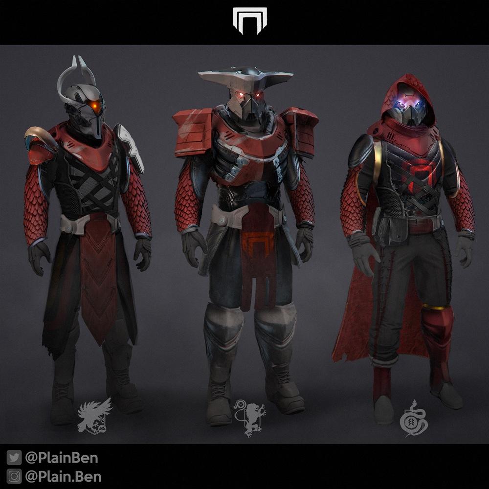 Destiny 2 Cabal Armor Concept