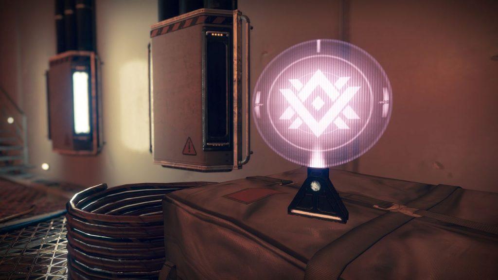 Destiny 2 Depot-Daten Hologramm