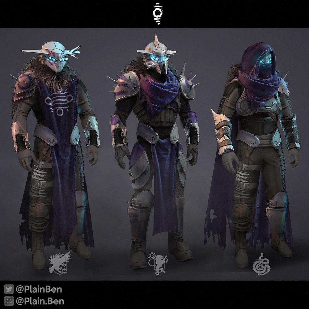 Destiny 2 Fallen Armor Concept