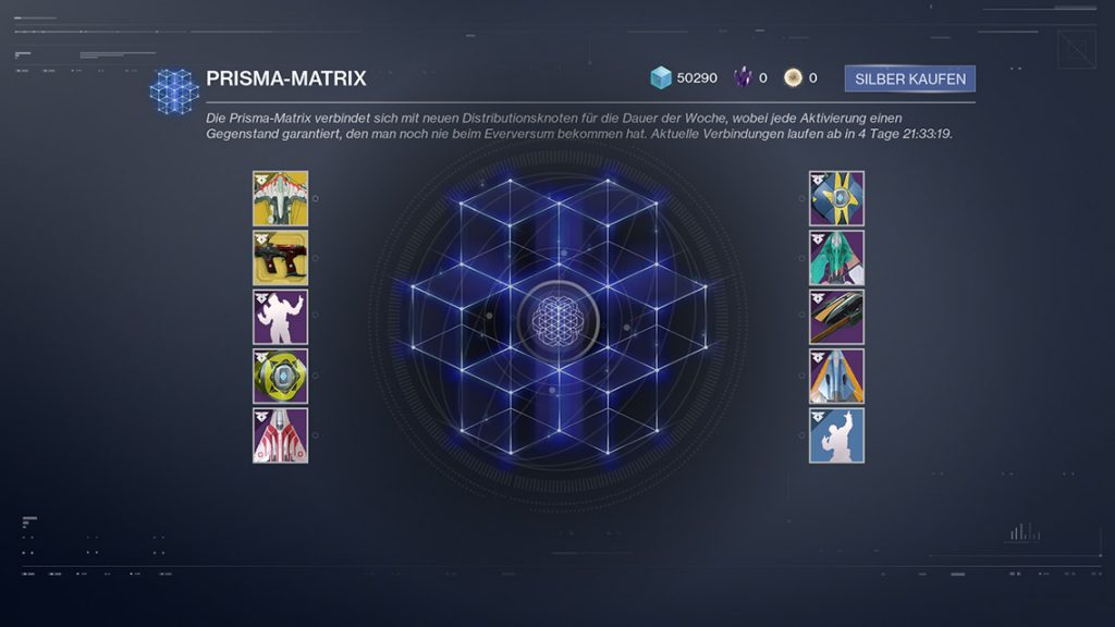 Destiny 2 Prisma Matrix
