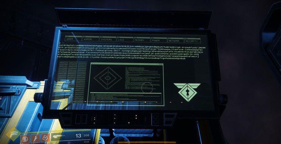 Destiny 2 Rasputin Lock Puzzle