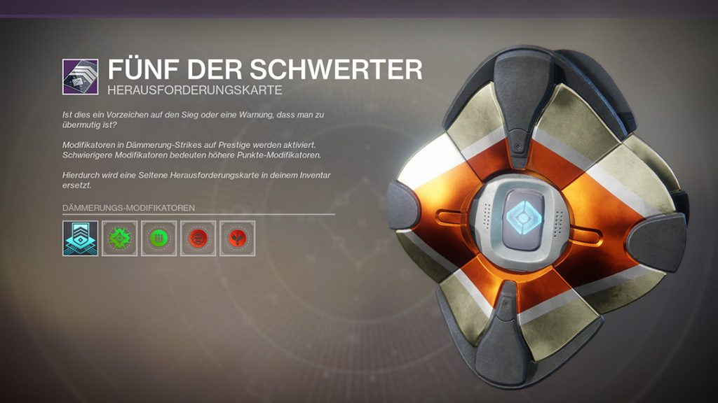 Destiny 2 Strike Modifier neu