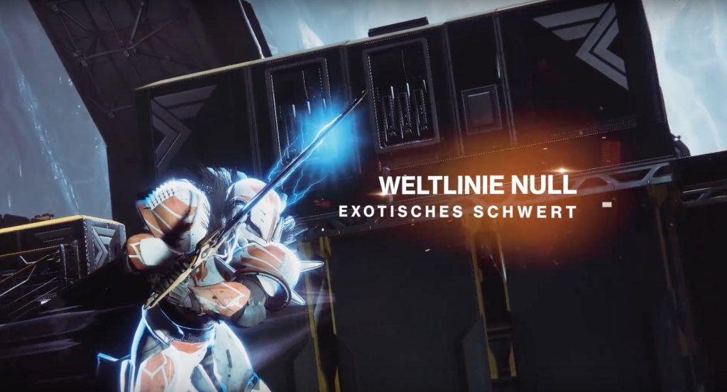 Destiny 2 Weltlinie Null
