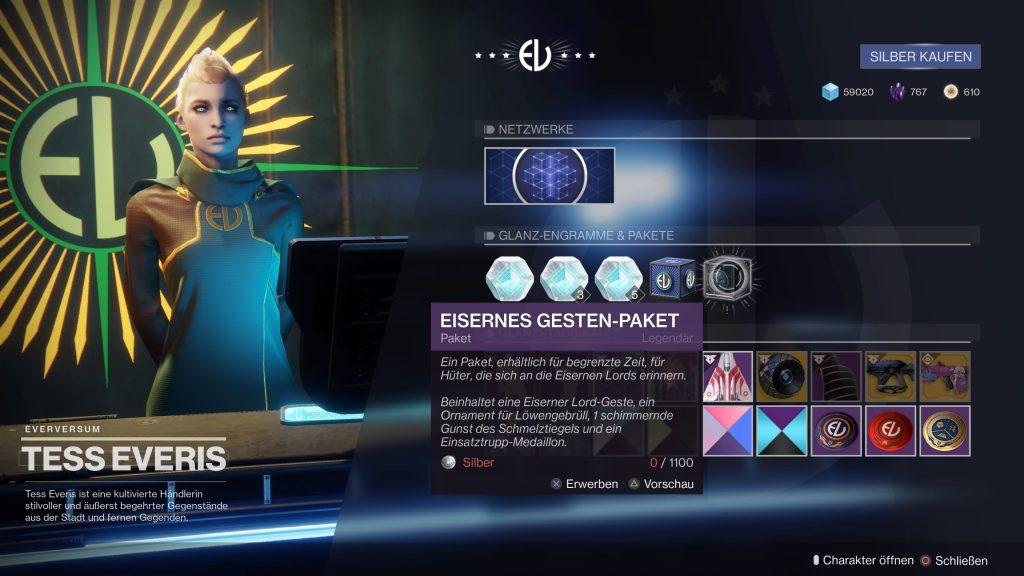 Destiny 2 Eisenbanner Everversum