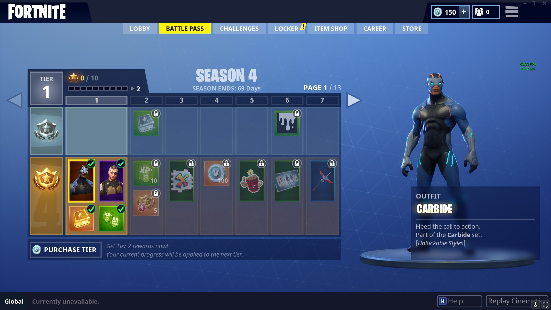 Fortnite Season 4 Skins Im Battle Pass Gibt S Outfits Emotes Und