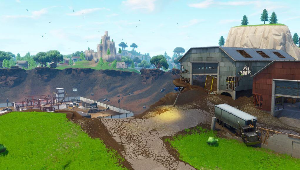 Fortnite-Dusty-Depot-Zerstört