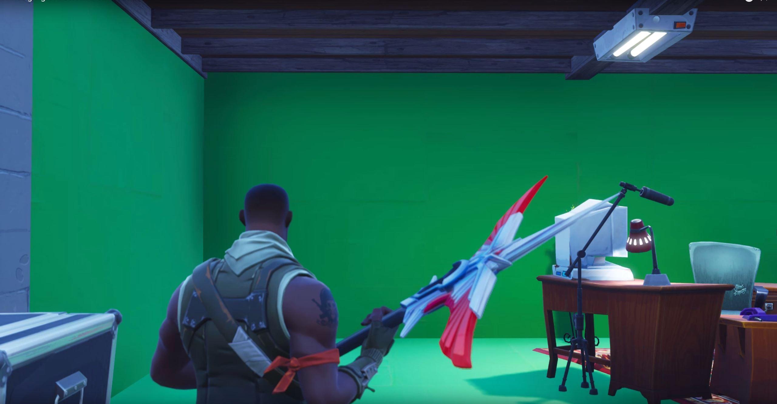 In Fortnite Gibt S Nun Green Screens Und Fans Drehen Damit Irre Filme
