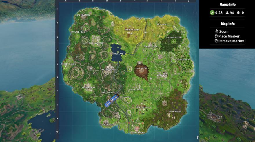 Fortnite Komet Verandert Map Drastisch In Season 4 Neue Locations