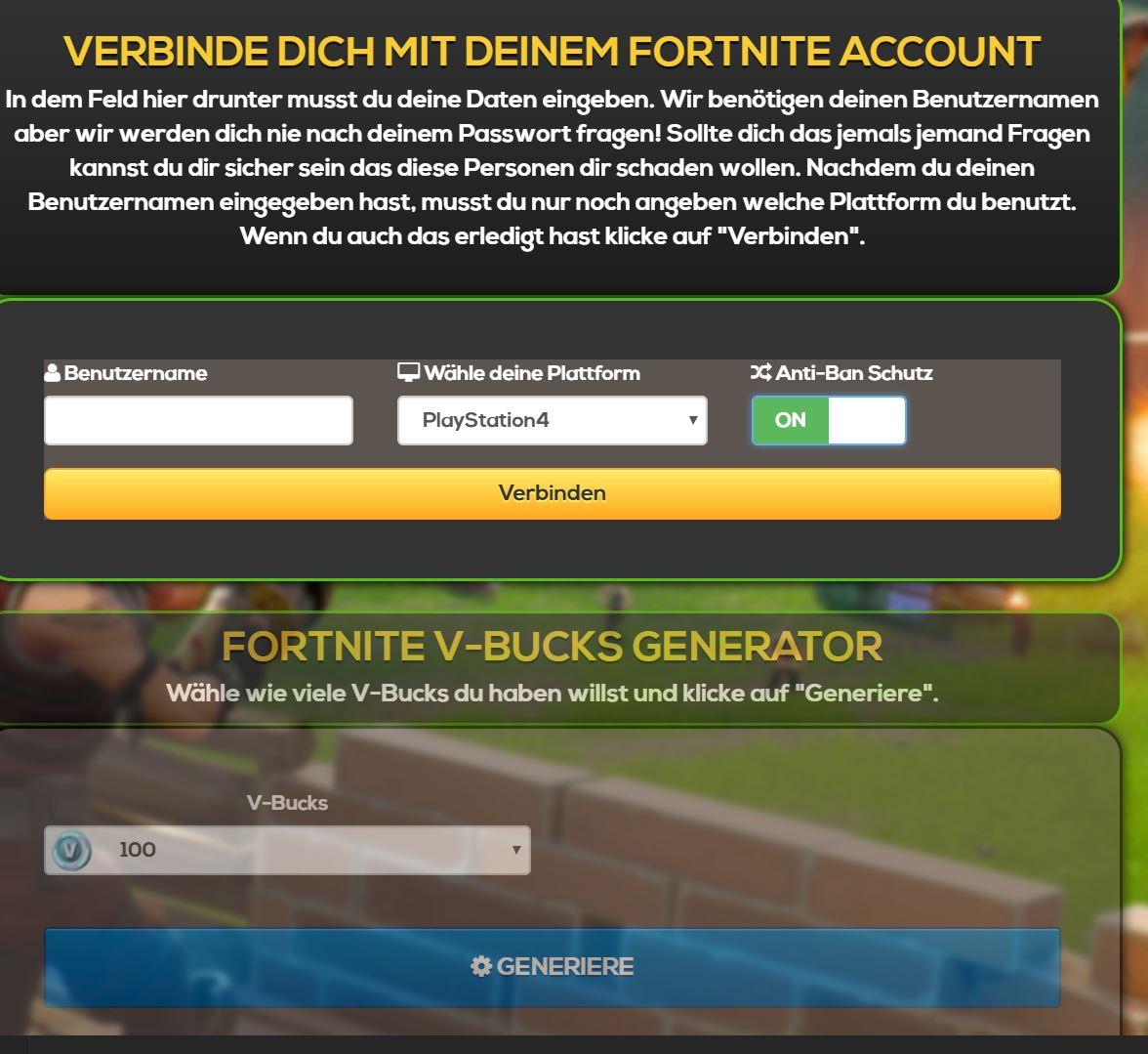 Fortnite Free V Bucks Hacks Was Steckt Dahinter Und Funktioniert Das