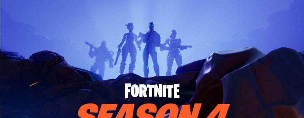Fortnite: Season 4 Patch-Notes – Karten-Änderung, geschenkte Lamas