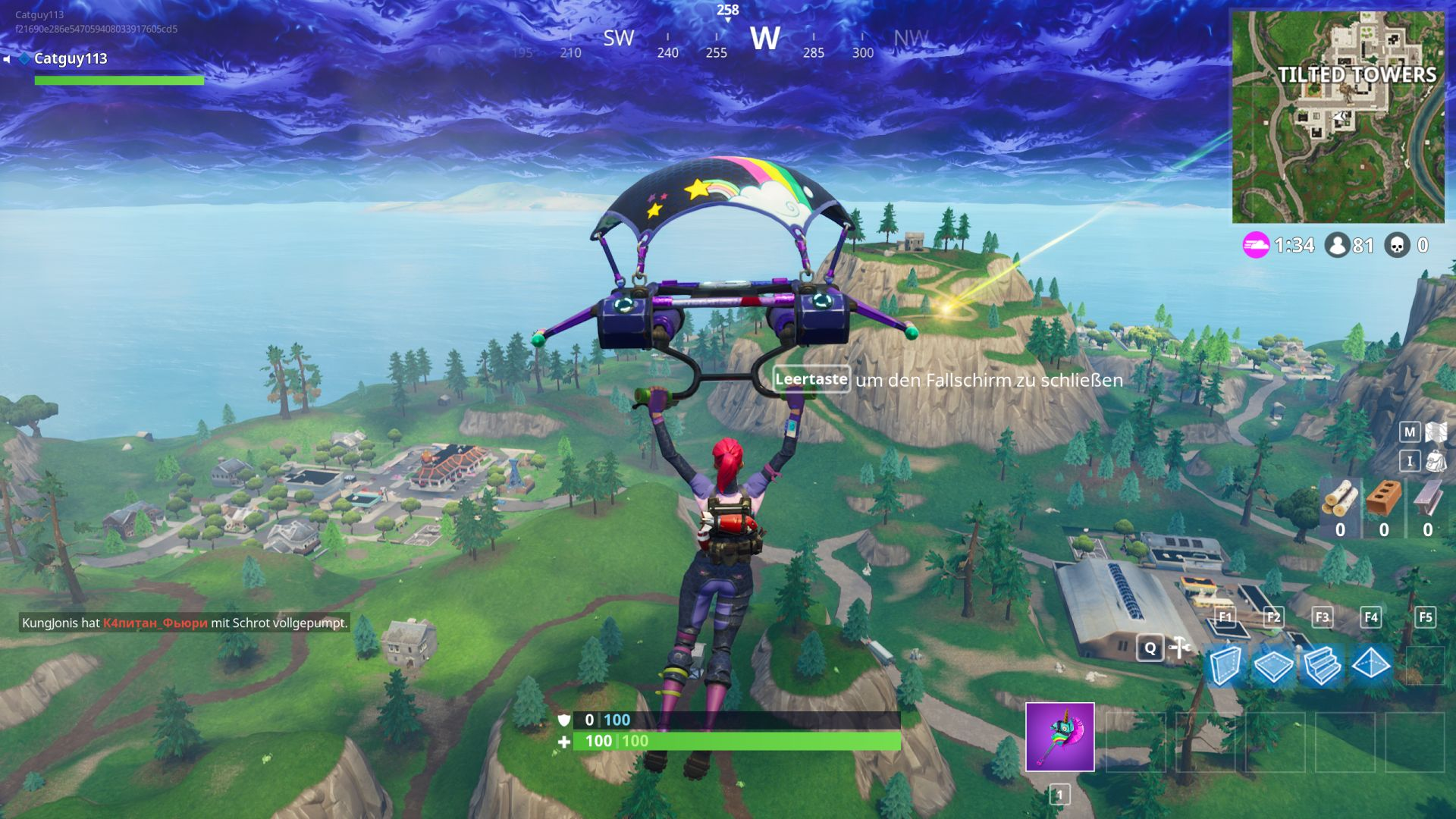 Fortnite-Thanos-Landung-01