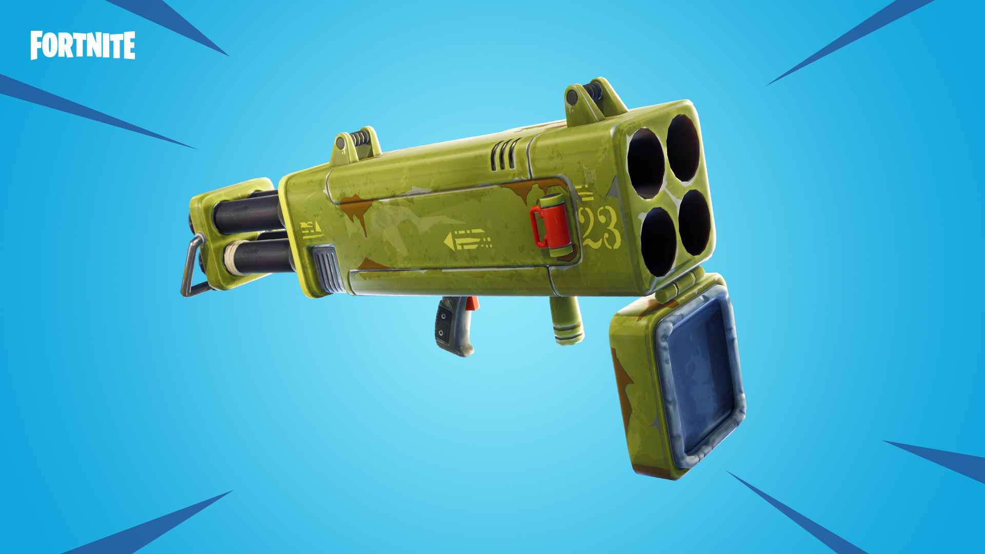 Fortnite-Vierfach-Rakete