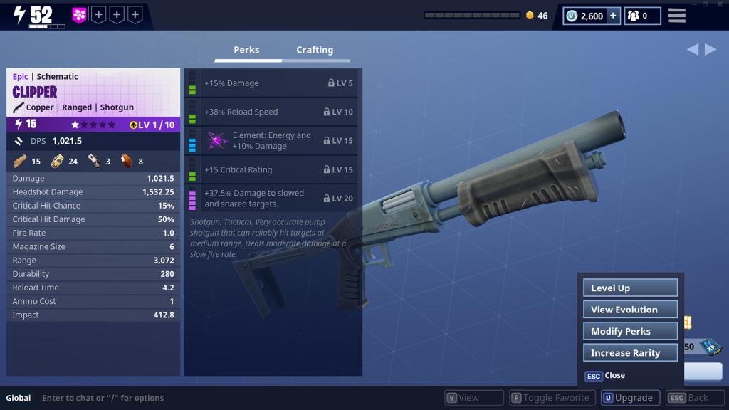 Fortnite-Waffen-Reroll