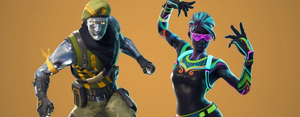 Neue Fortnite-Skins: Neon-Outfits im Shop, kommende Angebote geleakt
