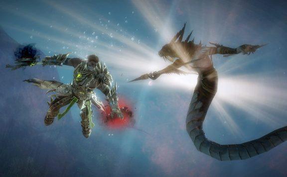 Guild Wars 2 Unterwasser
