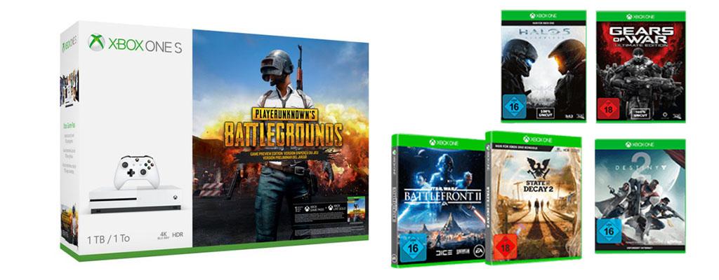 Xbox One S im Bundle-Angebot mit State of Decay 2 und 5 weiteren Spielen