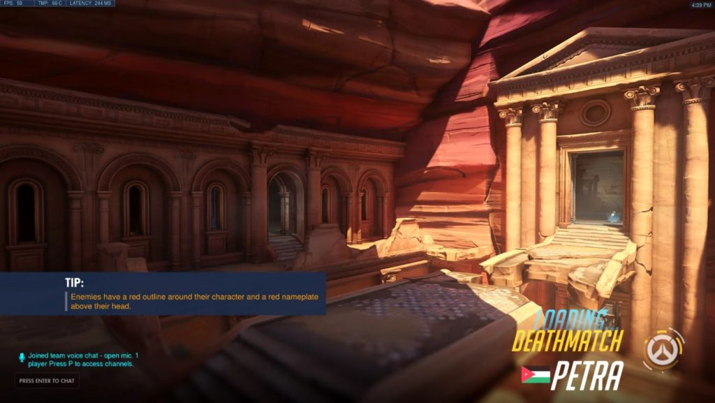 Overwatch Anniversary Event Petra Loading Screen