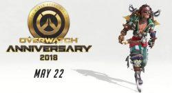 Overwatch Anniversary Event Junkrat Pirate Skin Titel