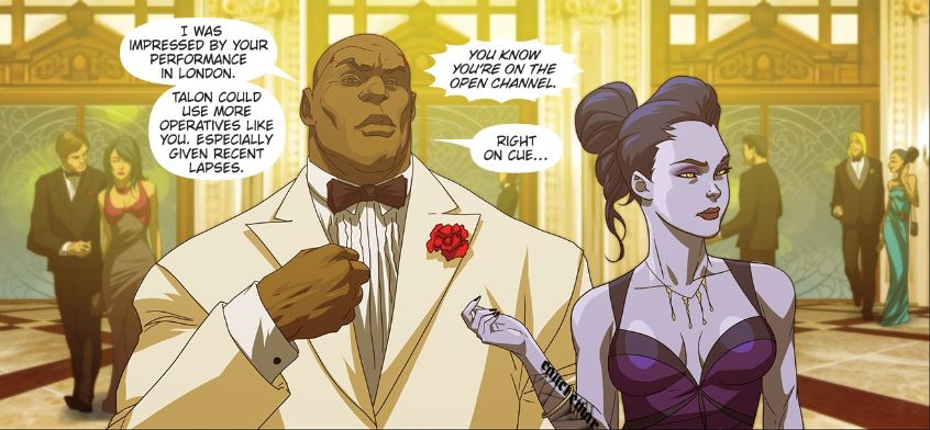 Overwatch Comic Maskerade Doomfist Widowmaker