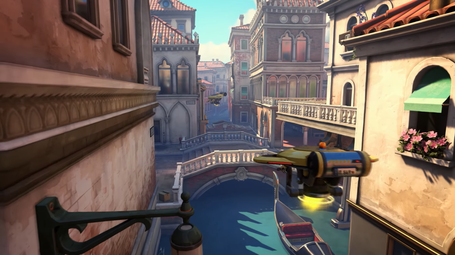 Overwatch New Map Rialto