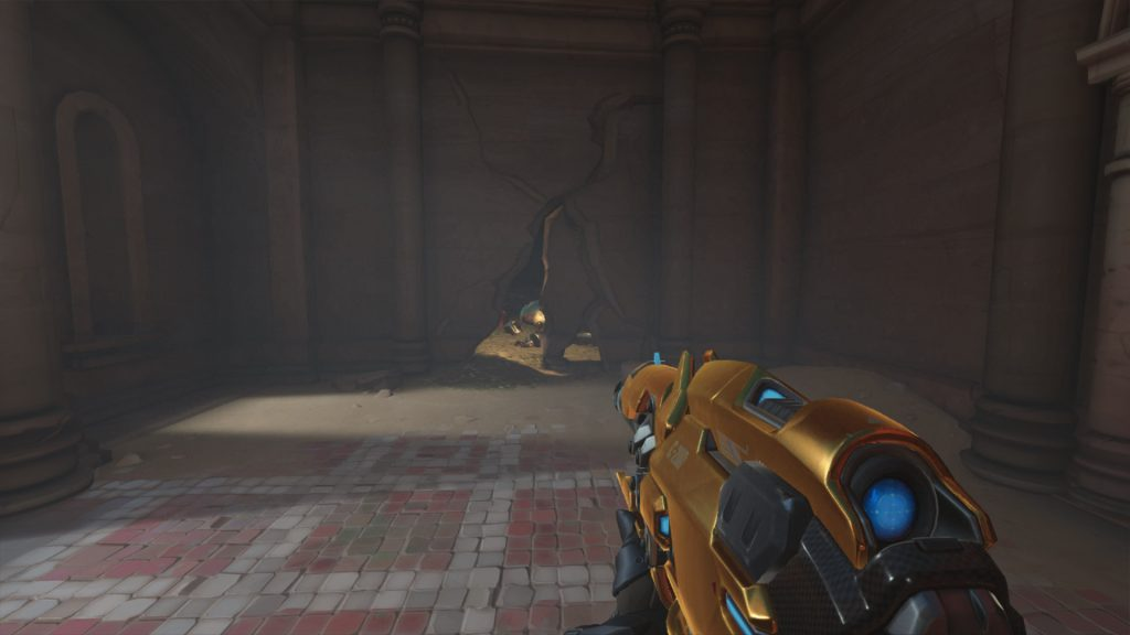 Overwatch Screenshot Petra versteckte Kammer