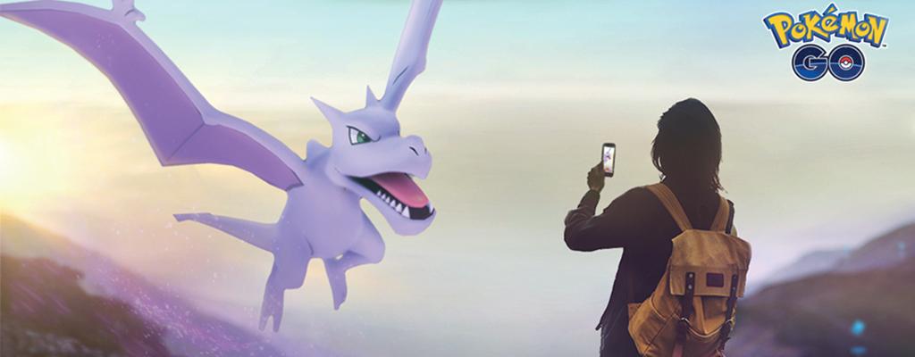 Pokémon GO Aerodactyl Titel