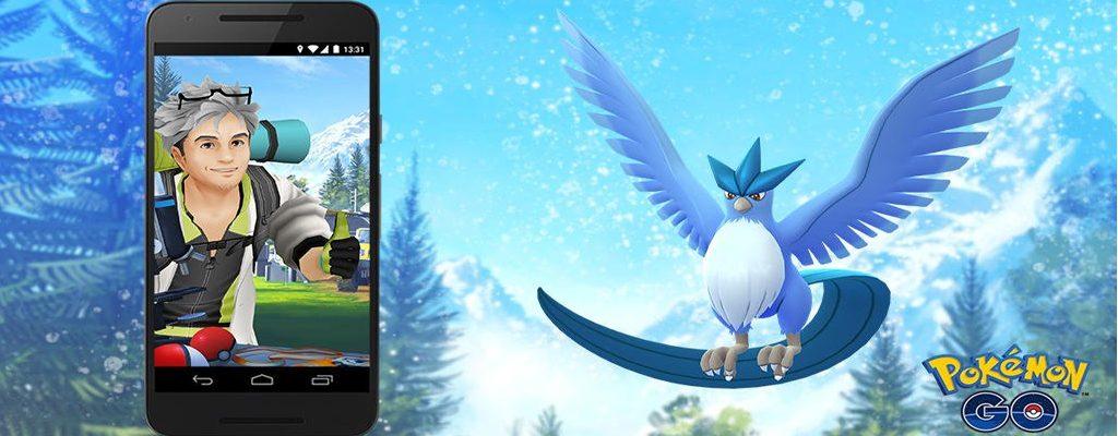 Pokémon GO Arktos Forschung Titel