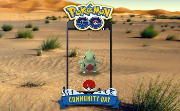 Pokémon GO Comm Day Larvitar