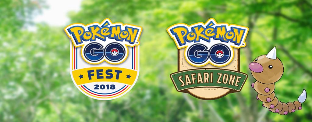 Freut Euch auf diese Pokémon GO-Events im Sommer 2018 – Safari-Zone