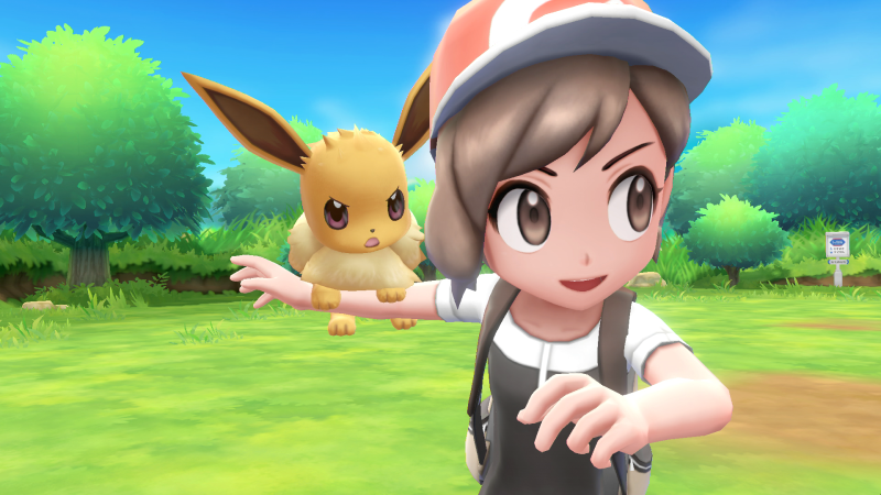 Pokémon Let's Go - Evoli