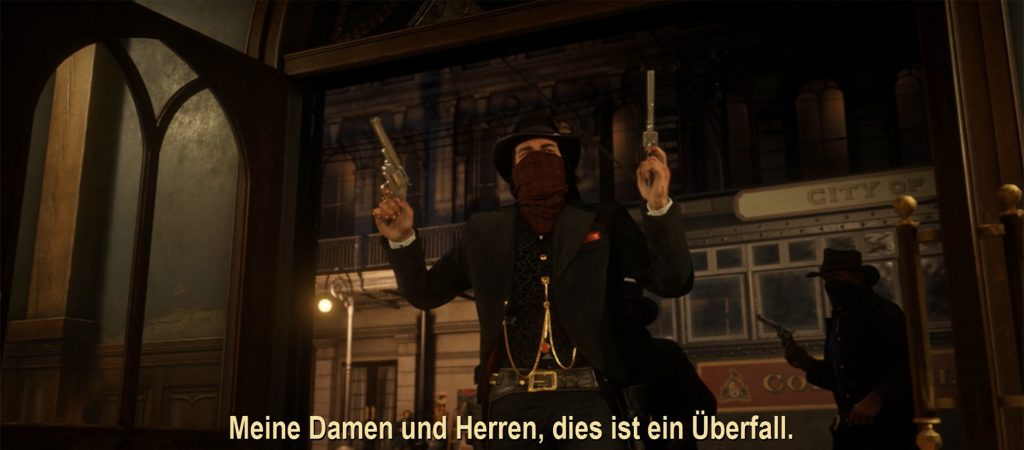 Red Dead Redemption 2 Überfall