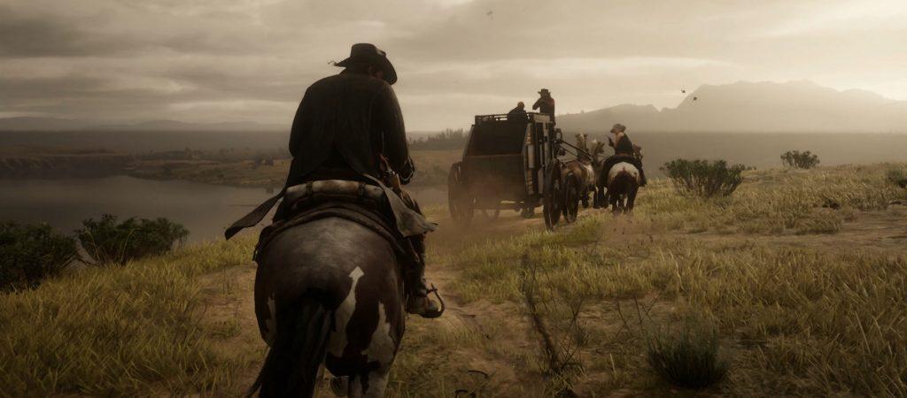 Red Dead Redemption 2 Überfall Kutsche