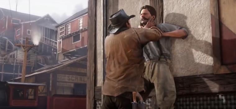 Red Dead Redemption 2 Überfall NPC