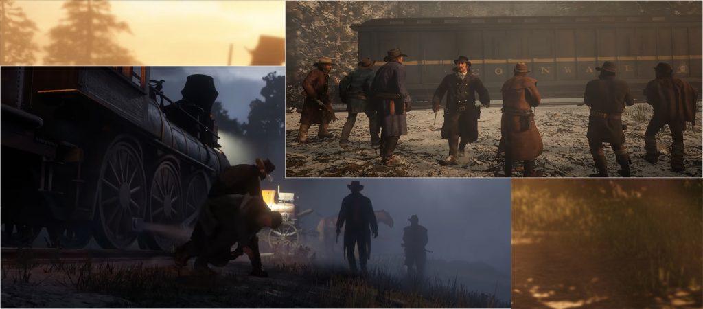 Red Dead Redemption 2 Überfall Züge