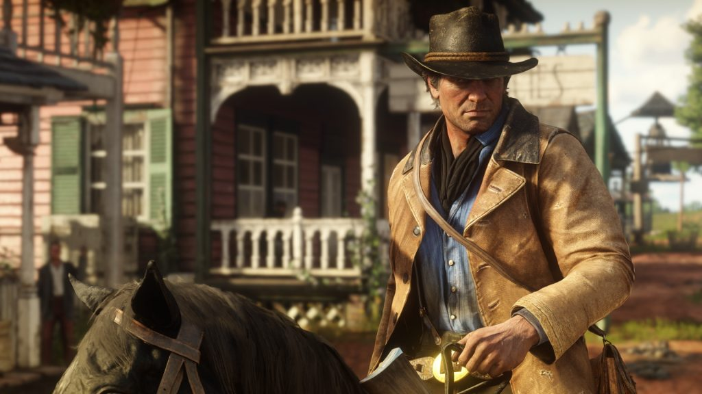 Red Dead Redemption 2 Arthur Pferd