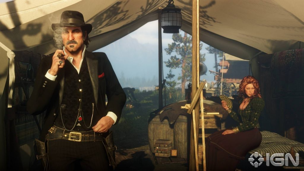 Red Dead Redemption 2 Dutch Zelt