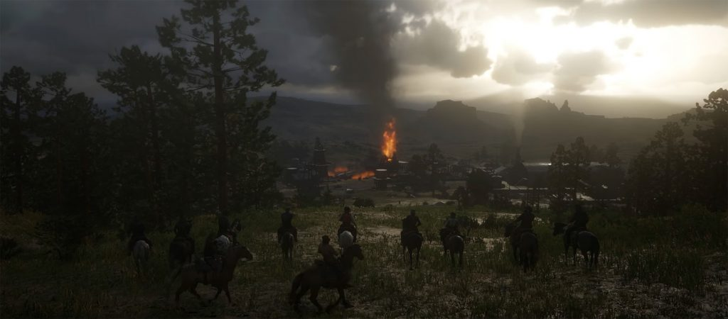 Red Dead Redemption 2 Feuer 2