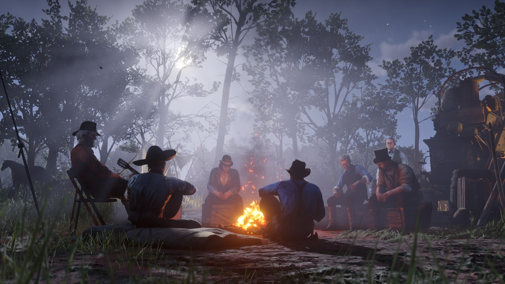 Red Dead Redemption 2 Lagerfeuer 2