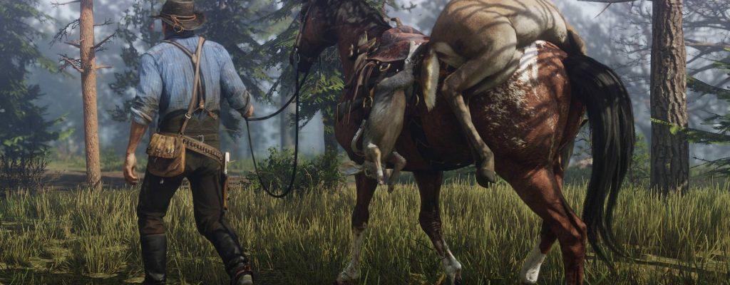 Red Dead Redemption 2 belohnt Pferdeflüsterer, die auf ihr Tier achten