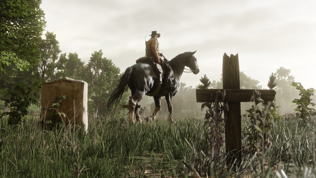 Red Dead Redemption 2 Pferd Friedhof