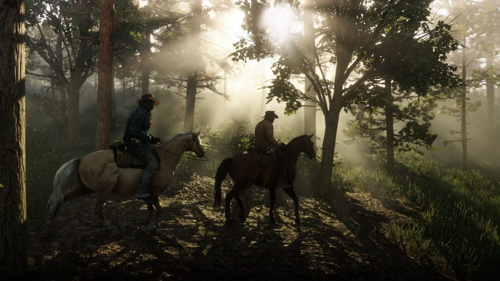 Red Dead Redemption 2 Pferde Wald