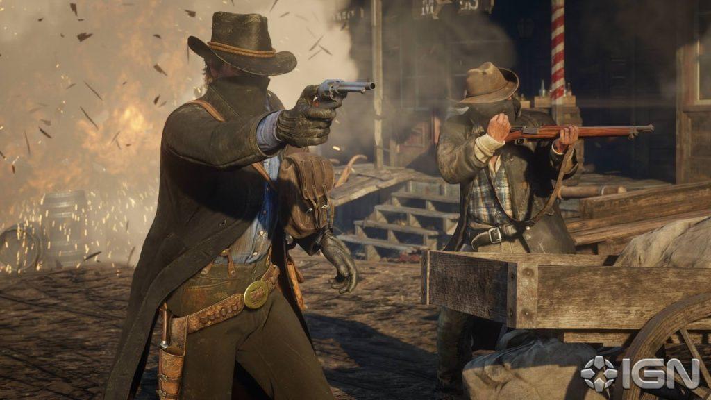 Red Dead Redemption 2 Schießen