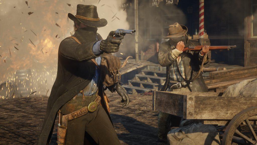 Red Dead Redemption 2 Schießen 2
