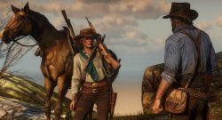 Red Dead Redemption Pferd Frau Bart