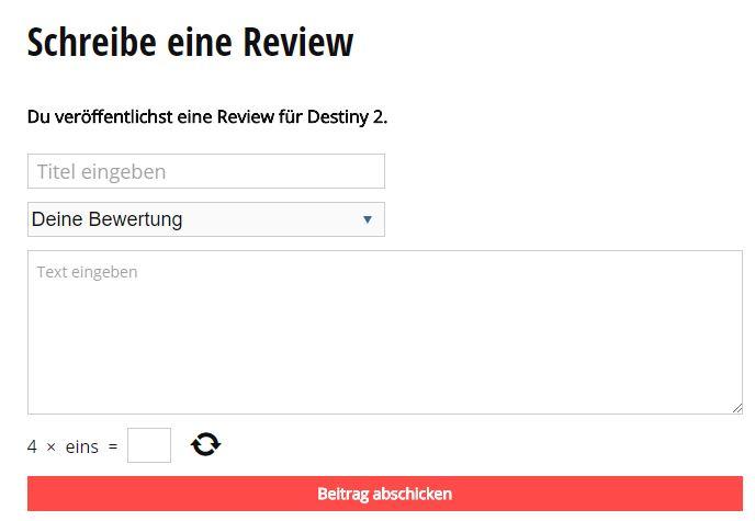Review schreiben auf Mein-MMO