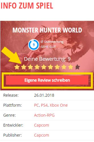 Reviews auf Mein-MMO