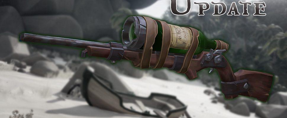 Sea of Thieves: Update bringt besondere Sniper, nur für kurze Zeit
