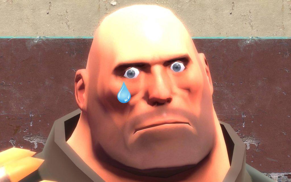 team fortress 2 sad face