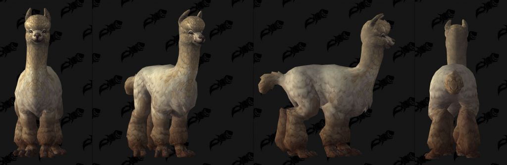 WoW Battle for Azeroth Alpaca Model wowhead